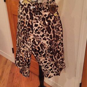 Cache Leopard Shorts